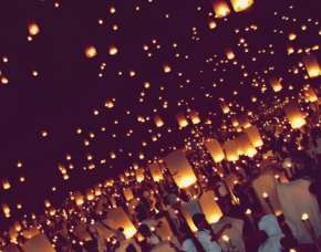 15, 185 Lanterns for Peace!